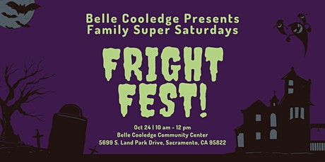 Family Super Saturday: Fright Fest at Belle Cooledge tickets