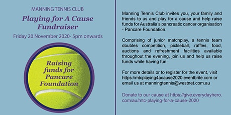 MTC Playing For A Cause Fundraiser tickets