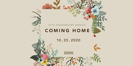 27th Anniversary Service on October 25 tickets
