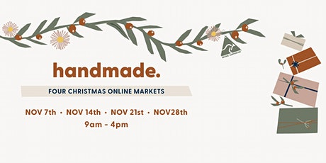 Handmade in Australia Christmas Market tickets