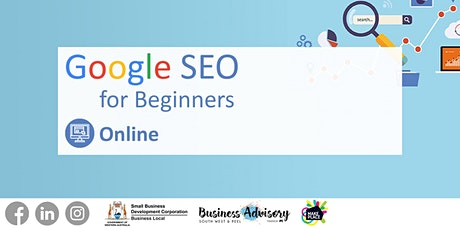 Google SEO for Beginners tickets