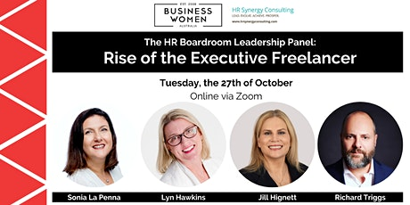 Online, The HR Boardroom Leadership Panel: Rise of the Executive Freelancer tickets