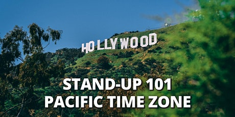 STEP BY STEP TO STAND UP COMEDY 101 |ONLINE CLASS| PDT tickets