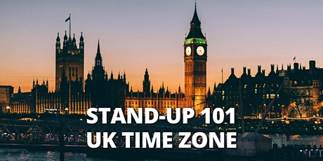 STEP BY STEP TO STAND UP COMEDY 101 |ONLINE CLASS| BST tickets