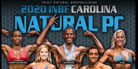 INBF CAROLINA NATURAL Physique Championship (OCTOBER 24, 2020) tickets