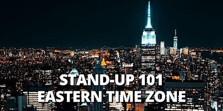 STEP BY STEP TO STAND UP COMEDY 101 |ONLINE CLASS| EDT tickets