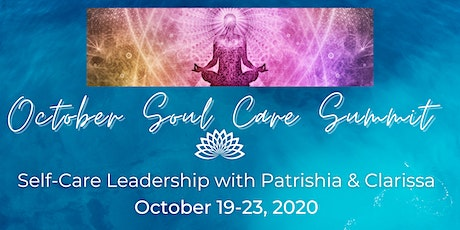 October Soul Care Summit tickets