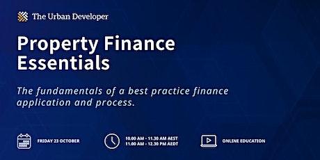 Property Finance Essentials tickets