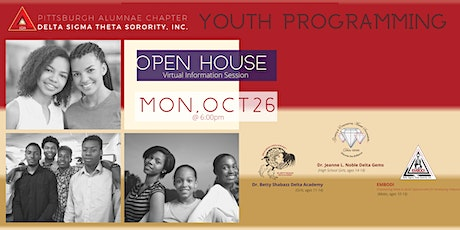 Youth Programming Open House tickets