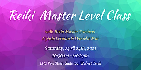 Reiki Master Level Class tickets