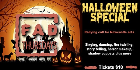 FAD Halloween Special - Rallying Call for the ARTS tickets