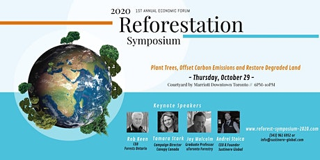 Reforestation Symposium 2020: Partnering with Business for Green Recovery tickets