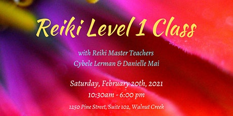 Reiki Level 1 Class tickets