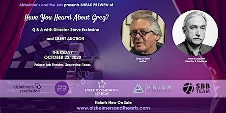 Movie Screening by Steve Ecclesine- Greg O'Neil's Journey With Alzheimer's tickets