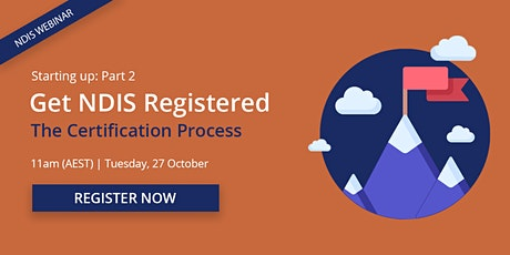 Getting started: NDIS Certification tickets