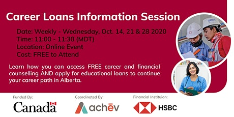 Information Session - Career Loans tickets