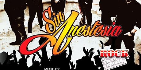 Sin Anestesia is back, Valentinos Nightclub en St Paul. tickets