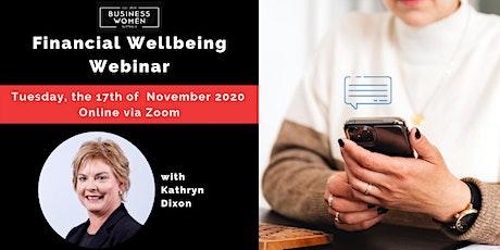 Online: Financial Wellbeing Webinar tickets