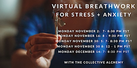Breathwork for Stress and Anxiety tickets
