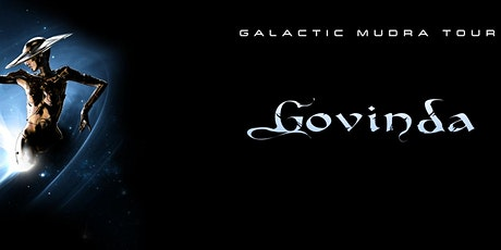 "Govinda ""Galactic Murada Tour"" at 1904 Music Hall tickets"