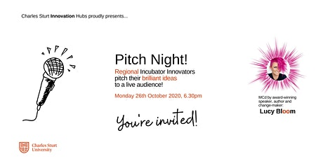 Charles Sturt Ready To Launch Pitch Night tickets