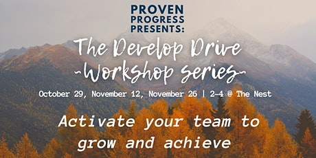 The Develop Drive Workshop - Session 1 tickets