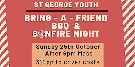 Sgyg bring-a-friend, BBQ & bonfire night! Live Streaming NRL Grand Final! tickets