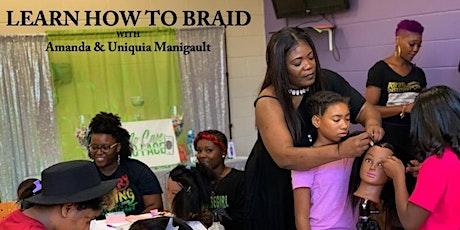 VIRTUAL -  Learn How To Braid & Open a Braid Shop Workshop tickets