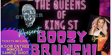 The Queens of King Street Boozy Brunch Drag Show! tickets