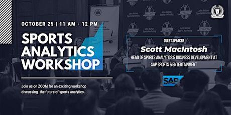 JMSM Sports Analytics Workshop biglietti