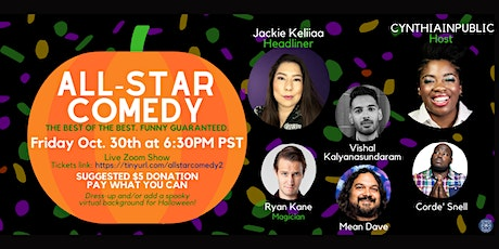 All-Star Comedy Show : Halloween Special tickets