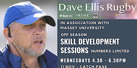 EllisRugby/Massey University Rugby Skill Development Sessions
