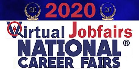 HOUSTON VIRTUAL CAREER FAIR AND JOB FAIR- December 3, 2020 tickets