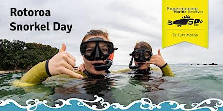 Rotoroa Snorkel Day tickets