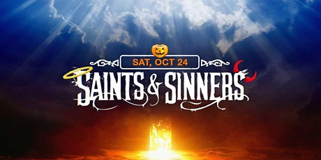 SAINTS & SINNERS - Halloween Party tickets