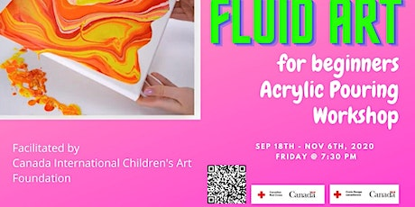 Fluid Art Acrylic Pouring for Beginners Workshop tickets