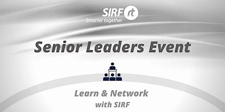SIRF Senior Leaders Event  -  with Hercules Van Der Merwe, Infrabuild GM tickets