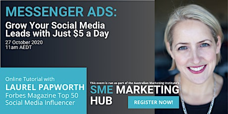 Messenger Ads: Grow Your Social Media Leads with $5 a Day tickets
