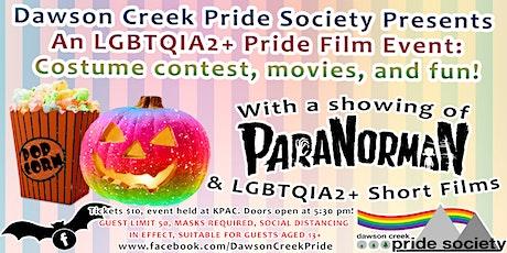 Dawson Creek Pride Society Pride Film Event tickets