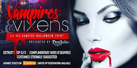VAMPIRES & VIXENS - Halloween Costume Party tickets