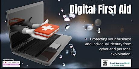 Digital First Aid Webinar tickets