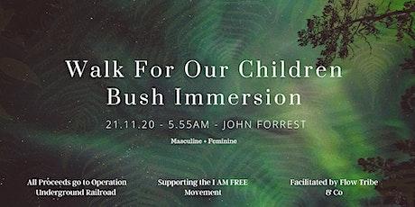 Walk For Our Children tickets