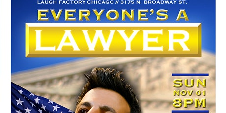 Everyone's a Lawyer Comedy Game Show Returns (For the Election!) tickets