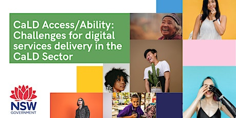CaLD Access/Ability: Digital services delivery in the CaLD sector tickets