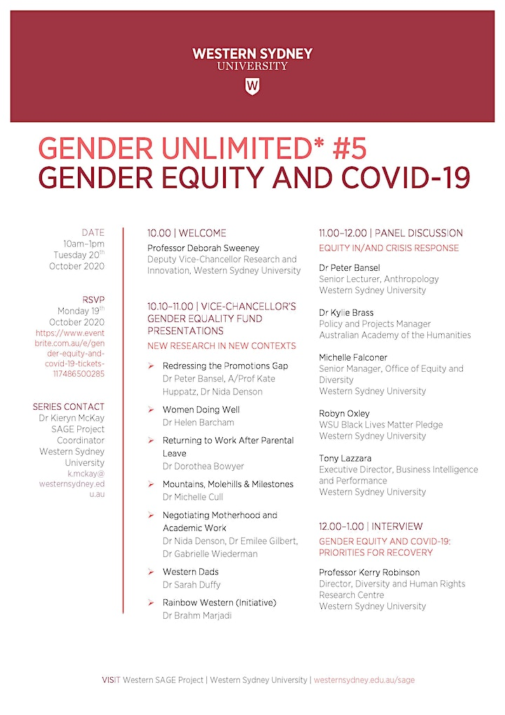 Gender Equity and COVID-19 image