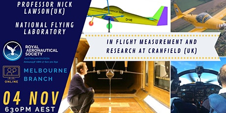 Nick Lawson - In Flight Measurement and Research at Cranfield (UK)