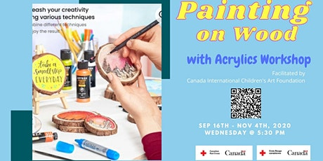 Painting on Wood with Acrylics Workshop tickets