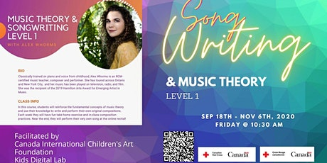 Songwriting and Music theory Workshop tickets