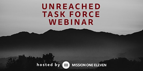 Unreached Task Force Webinar tickets