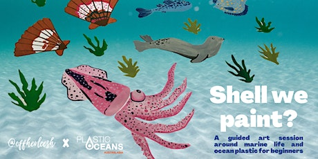 Shell We Paint? A guided art session around marine life and ocean plastic tickets
